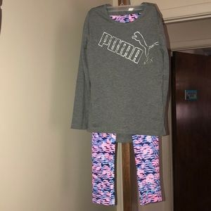 Girls Puma outfit - brand new